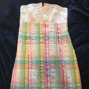 Lily Pulitzer size 4 strapless sun dress